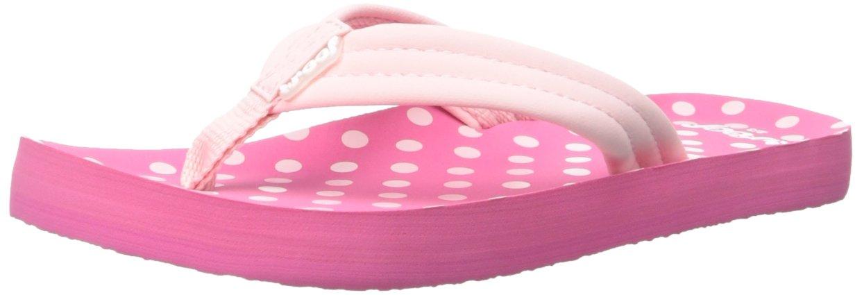 Reef Girls' Little Ahi-K, Pink Polka Dot 11R (11/12 M US Little Kid M US Little Kid)