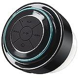 Bluetooth Shower Speaker,DLAND Waterproof Shockproof Wireless Bluetooth Stereo Speaker Built-in Mic for Speakerphone-Portable Stream Radio-- Music & Fun Indoor & Outdoor