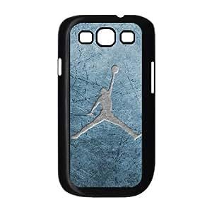 Samsung Galaxy S3 9300 Cell Phone Case Black Jordan logo K3949710