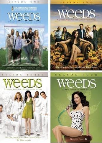 Weeds - Complete Seasons 1-4