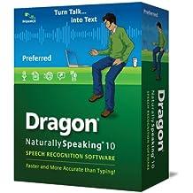 Dragon NaturallySpeaking 10 Preferred - Medium Box