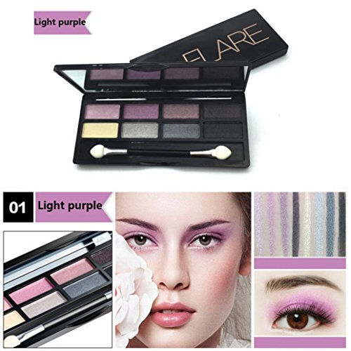 NOMENI Girl Eye Shadow,Perfect Palette,A Mix of Shimmer and Matte Shadows,8 Colors Eyeshadow Cosmetics Palette for Home and Professional Use (Light (Cargo Eye Lighter)