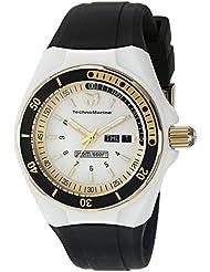 Technomarine Womens TM-115118 Cruise Sport Analog Display Swiss Quartz Black Watch
