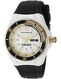 Womens TM-115118 Cruise Sport Analog Display Swiss Quartz Black Watch