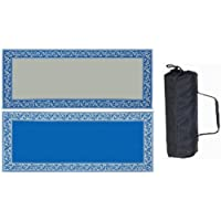 Mings Mark RC3 Blue/Beige 8 X 20 Classical Mat by Mings Mark