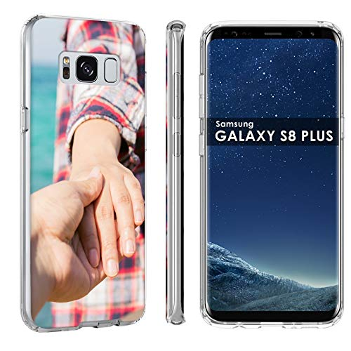 Samsung Galaxy S8 Plus Customized Phone Case Cover [Personalized Phone Case], Premium Thin Gel TPU Phone Cover with TalkingCase Amazon Custom Tool, Your Baby Photo HERE, Designed in USA