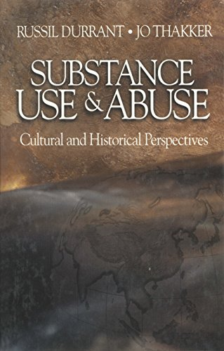 Download Substance Use and Abuse: Cultural and Historical Perspectives Pdf