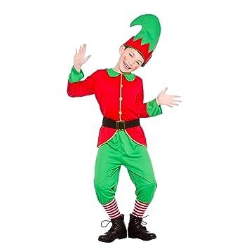 Christmas Fancy Dress Kids.Kids Christmas Workshop Elf Santas Little Helper X Large 11 13 Years Boys Girls Fancy Dress