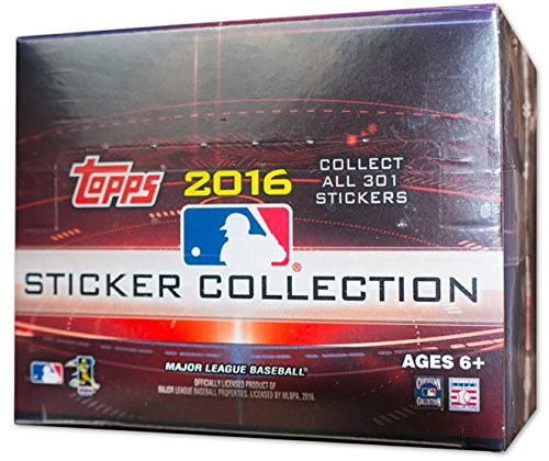 2016 Topps MLB Baseball Sticker Collection 50ct (Collection Baseball)