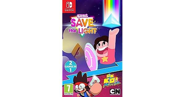 Steven Universe: Salva La Luz + ¡OK K.O.! Quiero Ser Un Héroe: Amazon.es: Videojuegos