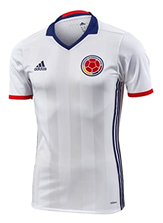 Men's Colombia Home Authentic Soccer Jersey 2016
