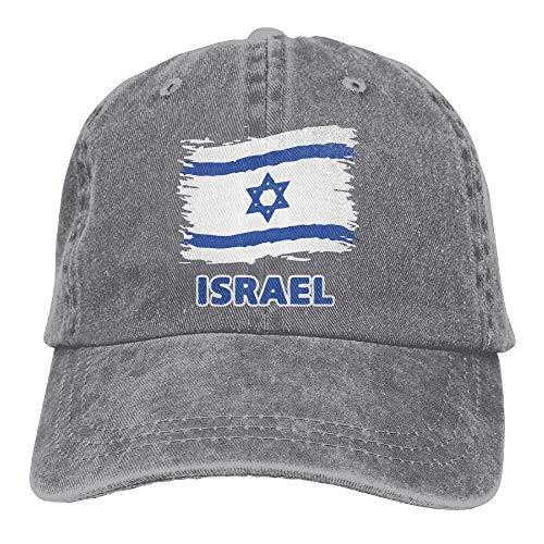 (Yohafke Baseball Jeans Cap Israel Flag Men Women Snapback Casquettes Adjustable Dad Hat Unisex10)