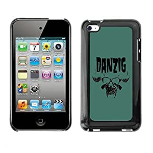 GagaDesign Phone Accessories: Hard Case Cover for Apple iPod Touch 4 - Danzig
