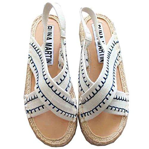 [テンカ]サンダル レディース ぺたんこ 厚底 ヒール 歩きやすい 美脚 かわいい 夏 日常 軽量 疲れない 快適 脚長効果 お洒落 通勤 お出かけ デート