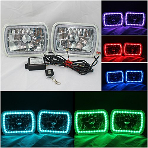 7x6 led halo headlights - 6