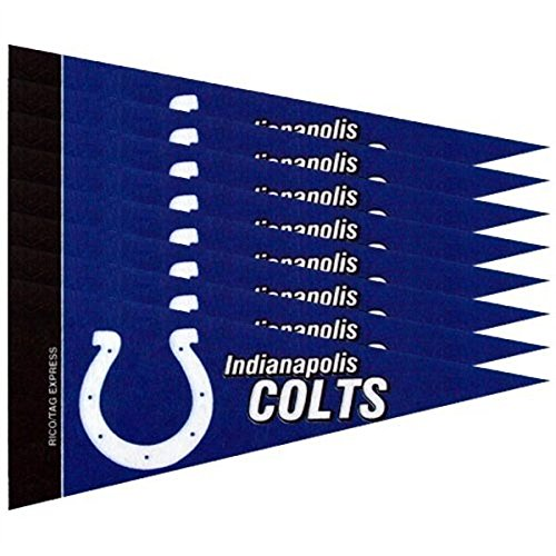Indianapolis Colts 8 Piece Mini Pennant Set - Indianapolis Colts Wall Pennant