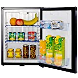 Smad Mini Fridge Compact 12v Refrigerator Reversible Door,with Lock,1.4 Cu.Ft.