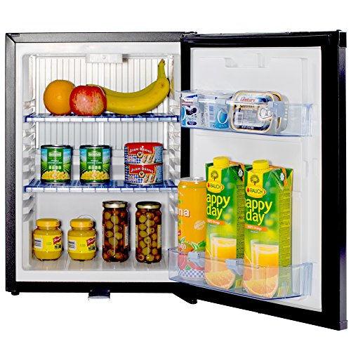 Smad Mini Fridge Compact 12v Refrigerator Reversible Door,with Lock,1.4 Cu.Ft. by Smad
