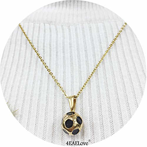 football necklace for girls - 2