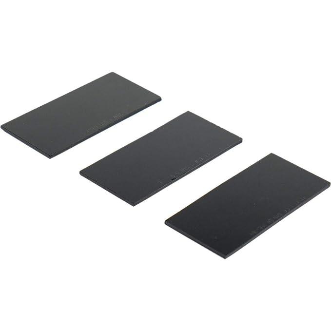 Juego de 3 vasos negros de protección soldadura - Cristal 50 x 105 DIN 11 - 3 mm máscara y máscara de soldador: Amazon.es: Bricolaje y herramientas