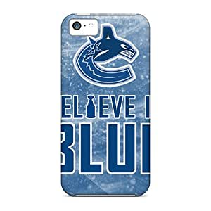 MMZ DIY PHONE CASEPerfect Hard Phone Cases For iphone 5c With Customized Stylish Vancouver Canucks Series JacquieWasylnuk