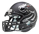 NCAA Boise State Broncos Authentic XP Football Helmet, Matte/Black