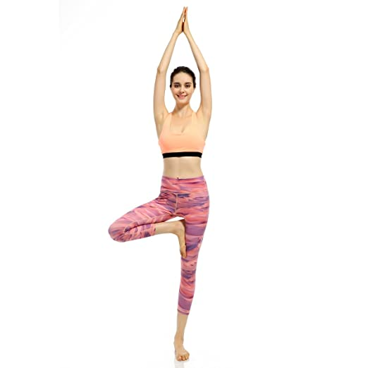 837b4ddacc X-Fit Sports Yoga Fitness Leggings Spandex Running Gym Women's Capri Yoga  Pants Nylon Hidden