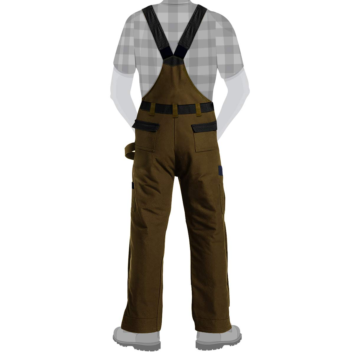 DuraDrive X-Large Timber Tradesman Insulated Overall