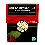 Buddha Teas Wild Cherry Bark Tea, 18 Count (Pack of 6)