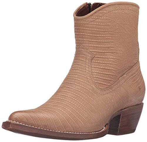 Frye Sacha Short Boot Mujer US 10 Beis Botín