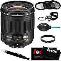Nikon AF-S Nikkor 28mm F/1.8G Lens w/ 67mm Filter Kit & Accessory Bundle