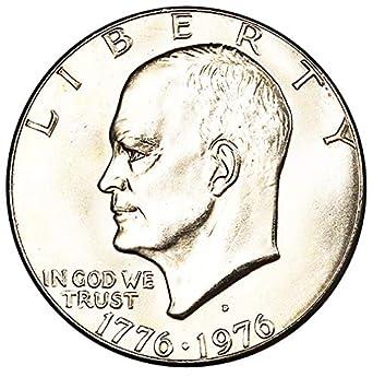 1976-D TYPE 1 UNCIRCULATED  EISENHOWER IKE DOLLAR