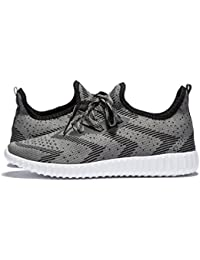 Men's Knit Running Shoes Cross Training Shoes Lightweight Athletic Shoes Outdoor Sneakers