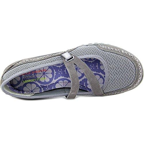 Easy Lucky gris para Skechers oscuro Lady Breathe Zapatillas Mujer AwvaxBq41