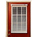 MagneBlind Magnetic Mini Blinds for Metal Door (Half-Length) 25 x 41 by The_Curtain_Shop