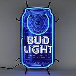 Neonetics 5BLCAN Bud Light Beer Can Neon Sign