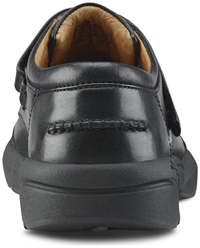 Dr. Comfort Frank Men's Therapeutic Diabetic Extra Depth Dress Shoe: Black 7 Wide (E/2E) Velcro by Dr. Comfort (Image #4)'