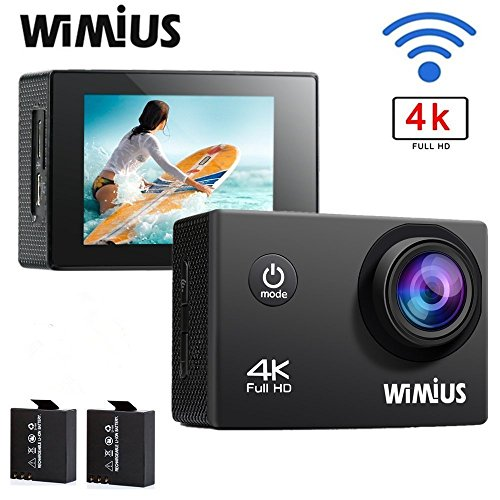 WIMIUS Waterproof 170%C2%B0Wide Batteries Accessories