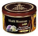 vanilla electronic cigarette - Khalil Mamoon Shisha Molasses Premium Flavors 100g For Hookah (Ice Cream Blueberry Vanilla)