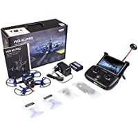 Weyland WD110 PRO Quadcopter Racing Drone Kit with Devo f8S(s) Remote Control & Fpv Monitor/F3 Fight Control/Fpv Camera/Video Transmitter (BatteryX2)