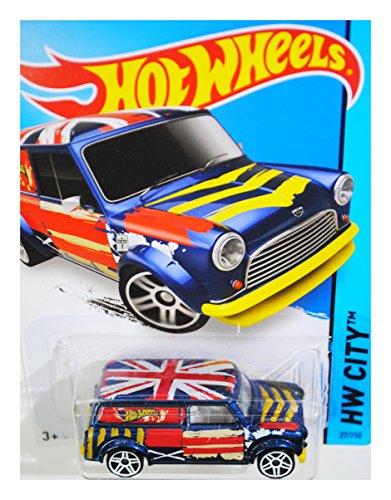 Hot Wheels 2015 HW City '67 Austin Mini Van 27/250, Blue free shipping