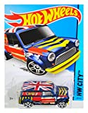 hot wheels mini van - Hot Wheels 2015 HW City '67 Austin Mini Van 27/250, Blue