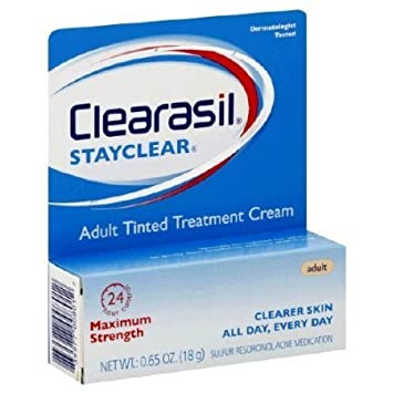 Clearasil Adult Tinted Treatment Cream 0.65 oz (Pack of 4) (6 Pack) MEDIHEAL N.M.F Aquaring Ampoule Mask