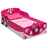 Delta Children Interactive Wood Toddler Bed, Disney Minnie Mouse