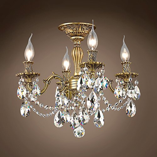(Joshua Marshal 701585-042 - Traditional Versailles 4 Light 17