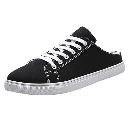 b86da806c5b6d Amazon.com: JJLIKER Men Classic Canvas Shoes Casual Low Top Lace Up ...