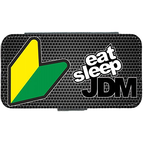 Eat Sleep JDM iPhone 4 Case Wallet Honda Nissan Subaru Toyota