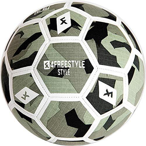 4Freestyle - Balón de fútbol Freestyle, Color Camuflaje, tamaño 5 ...