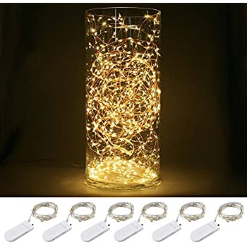 Amazon Com Blinngo Starry String Lights 6 Pack 30 Micro