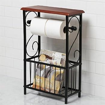 Amazon Com Brylanehome Scroll Toilet Paper Magazine